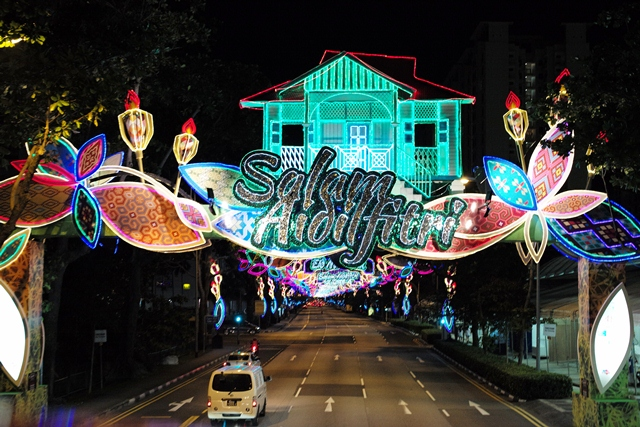 Hari Raya Light Up 2017 themed Deepening the Kampung Spirit