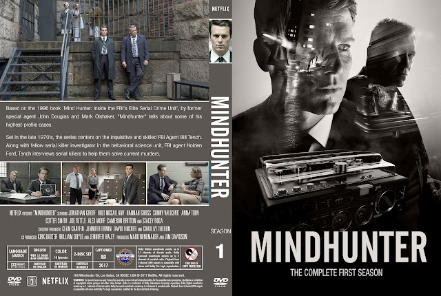 Mindhunter Season 1 DVD Cover