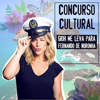 """Concurso Cultural """"Gioh me leva para Fernando de Noronha"""""""