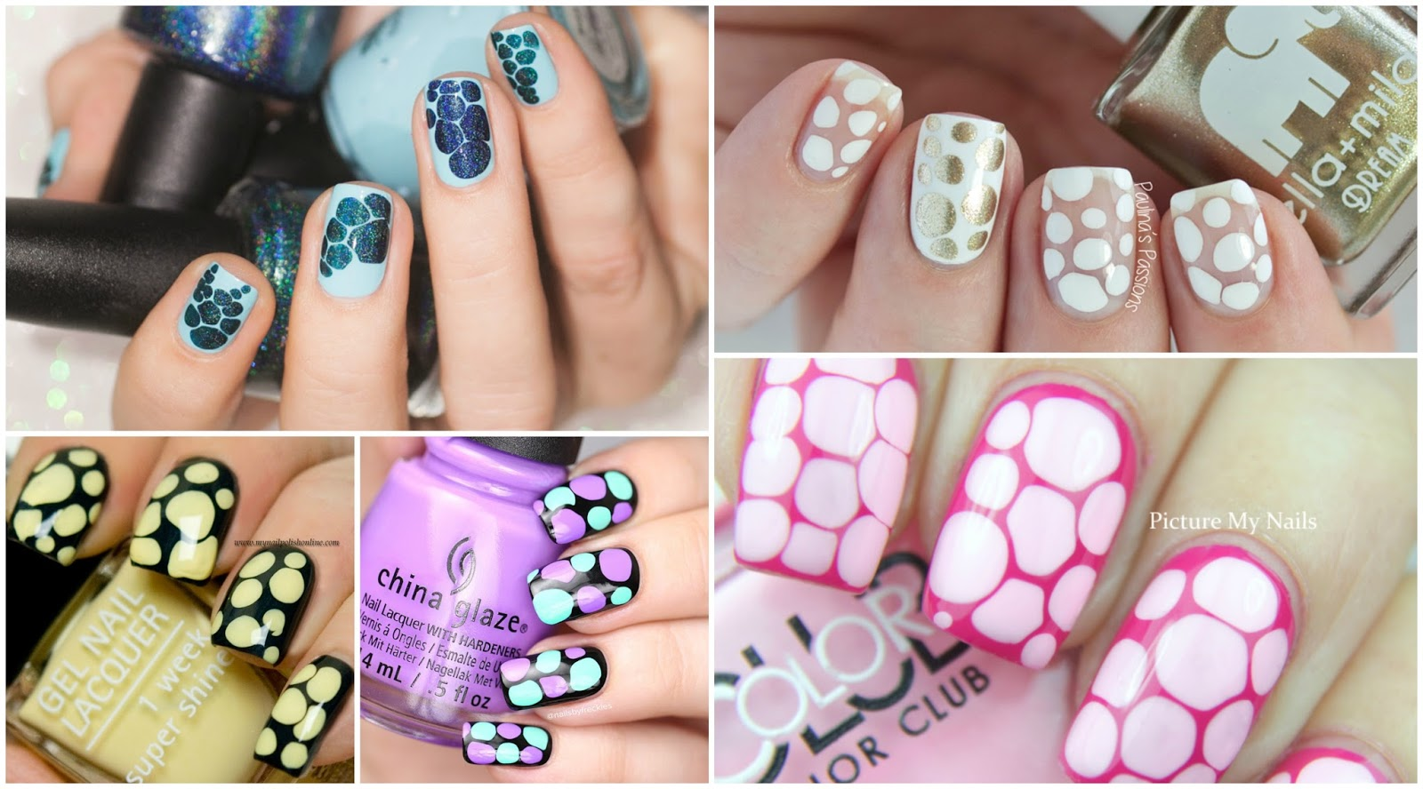 Blobbicure: The hot new nail art trend