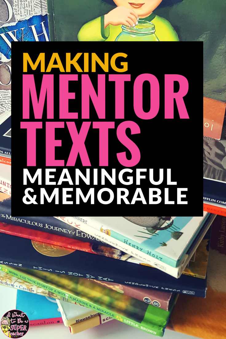 Get elementary students interacting with all of your amazing mentor texts with this simple strategy. Use mentor texts as inspiration for writing ideas! This writing activity is perfect for centers, or as a mini-lesson teachers can use with every mentor text they read!