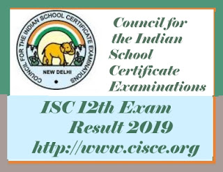 ISC Results 2019, CISCE Results 2019, ISC 12th 2019 Result, ISC 12th 2019 Results