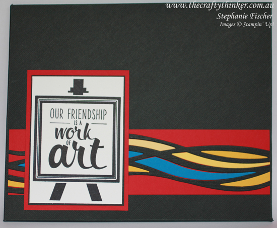 Stampin' Up, #thecraftythinker, Gift Card Set, Mondrian, Swirly Scribbles, Painter's Palette