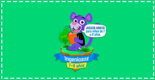 Juegos didácticos para niños y niñas de 7 y 8 años