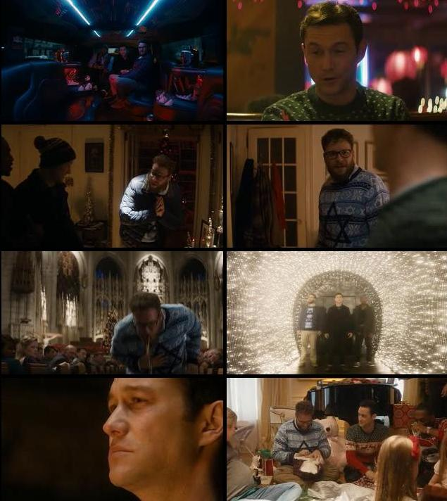 The Night Before 2015 English HDRip 700mb ESubs