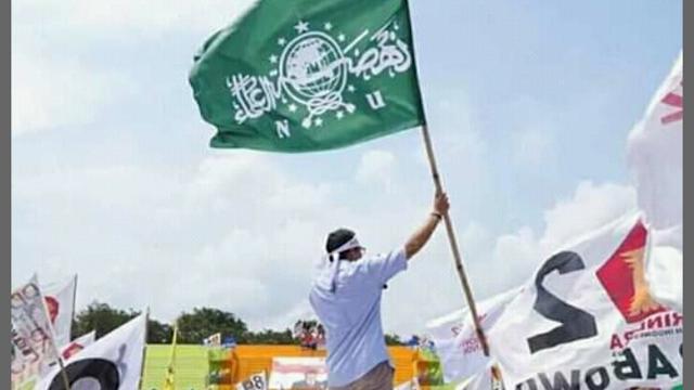 Protes Sandiaga, PCNU Lumajang : Pengibaran Bendera NU Saat Kampanye Merupakan Pelecehan