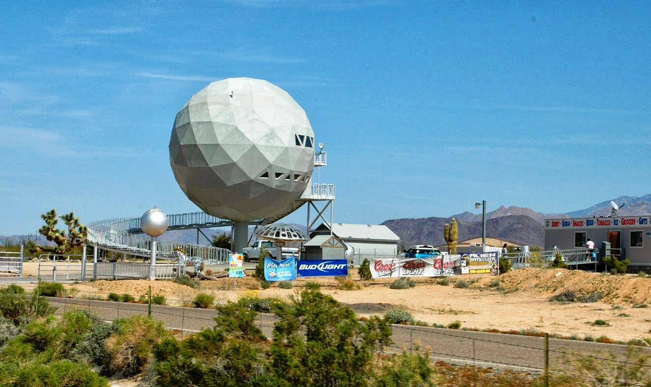 Patrick Tillett: Golf Ball House or Arizona Death Star