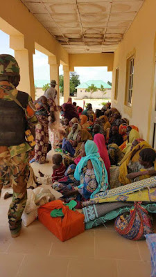 boko haram terrorists wives surrenders