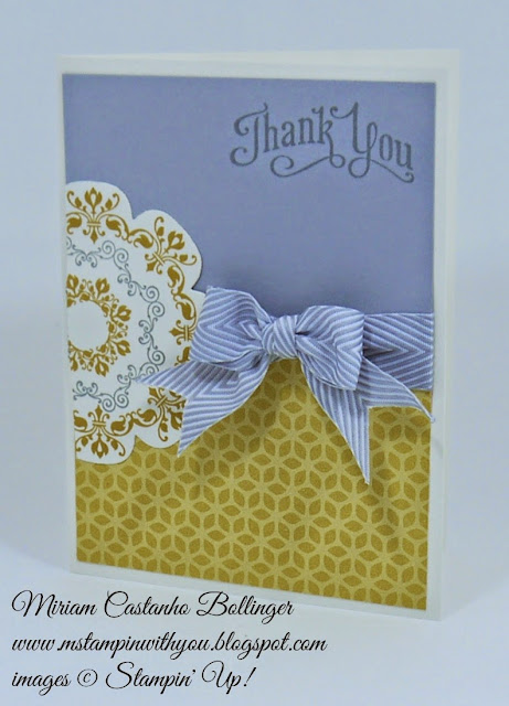 Miriam Castanho Bollinger, #mstampinwithyou, stampin up, demonstrator, fusion, flower pot dsp, daydream medallion, floral frames, big shot, chevron ribbon, su