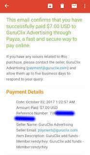 E-mail notifikasi deposit ptc