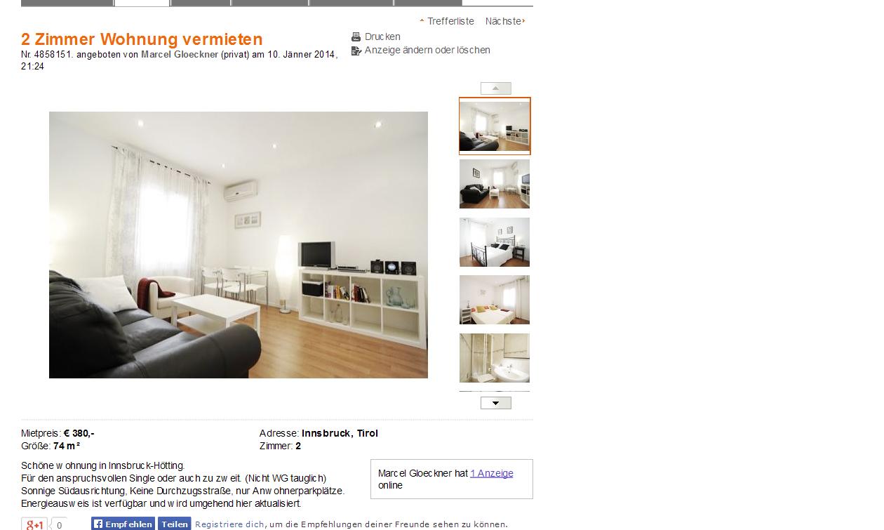 Wohnung Oranienstrasse Aachen