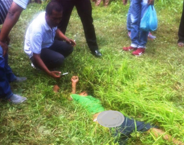 Mayat Pria di Tanah Garapan Sampali Dikabarkan Warga Jalan Pelita 2