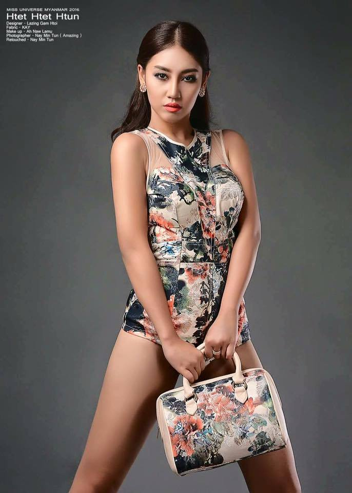 Miss Universe Myanmar 2016 Htet Htet Htun Shows Of In Style