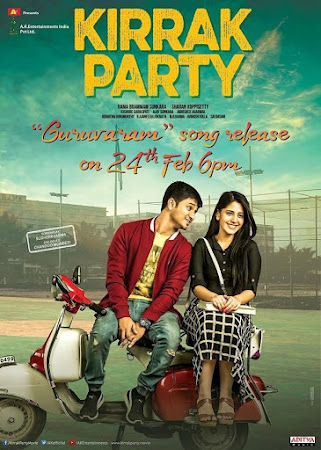 Poster Of Hindi Movie Kirrak Party 2018 Full HD Movie Free Download 720P Watch Online