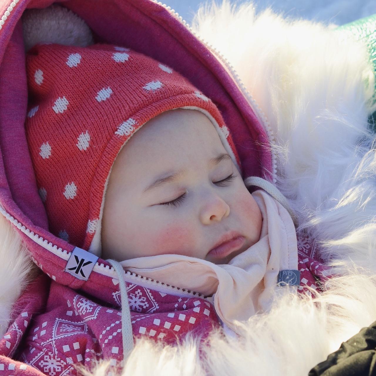 livingmiriam: att klä bebis i minusgrader för bärsjal/sele