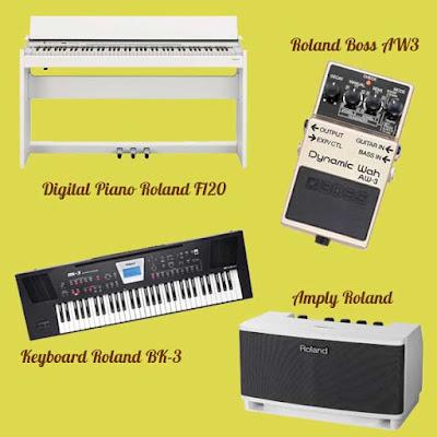 Tìm hiểu chi tiết đàn piano điện roland