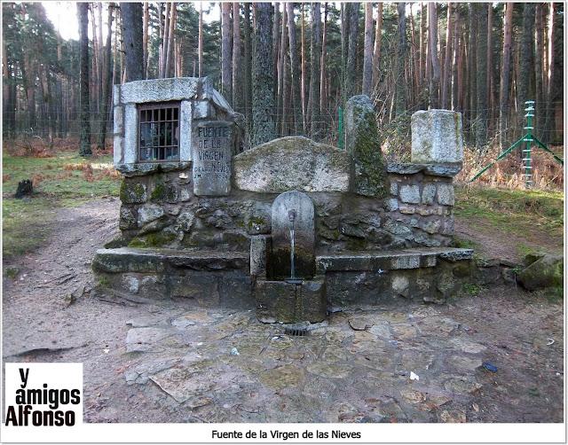 Fuente Virgen de las Nieves - AlfonsoyAmigos