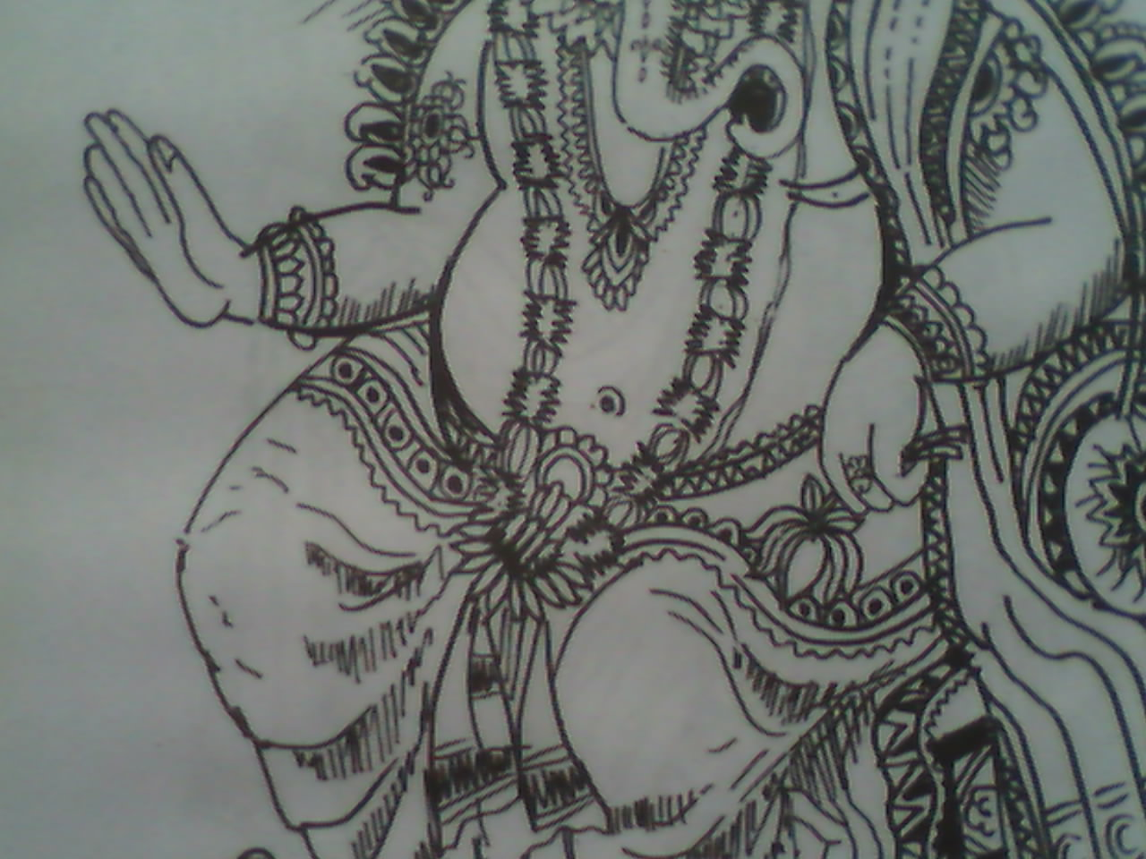 Lord Ganesha Pictures Drawings