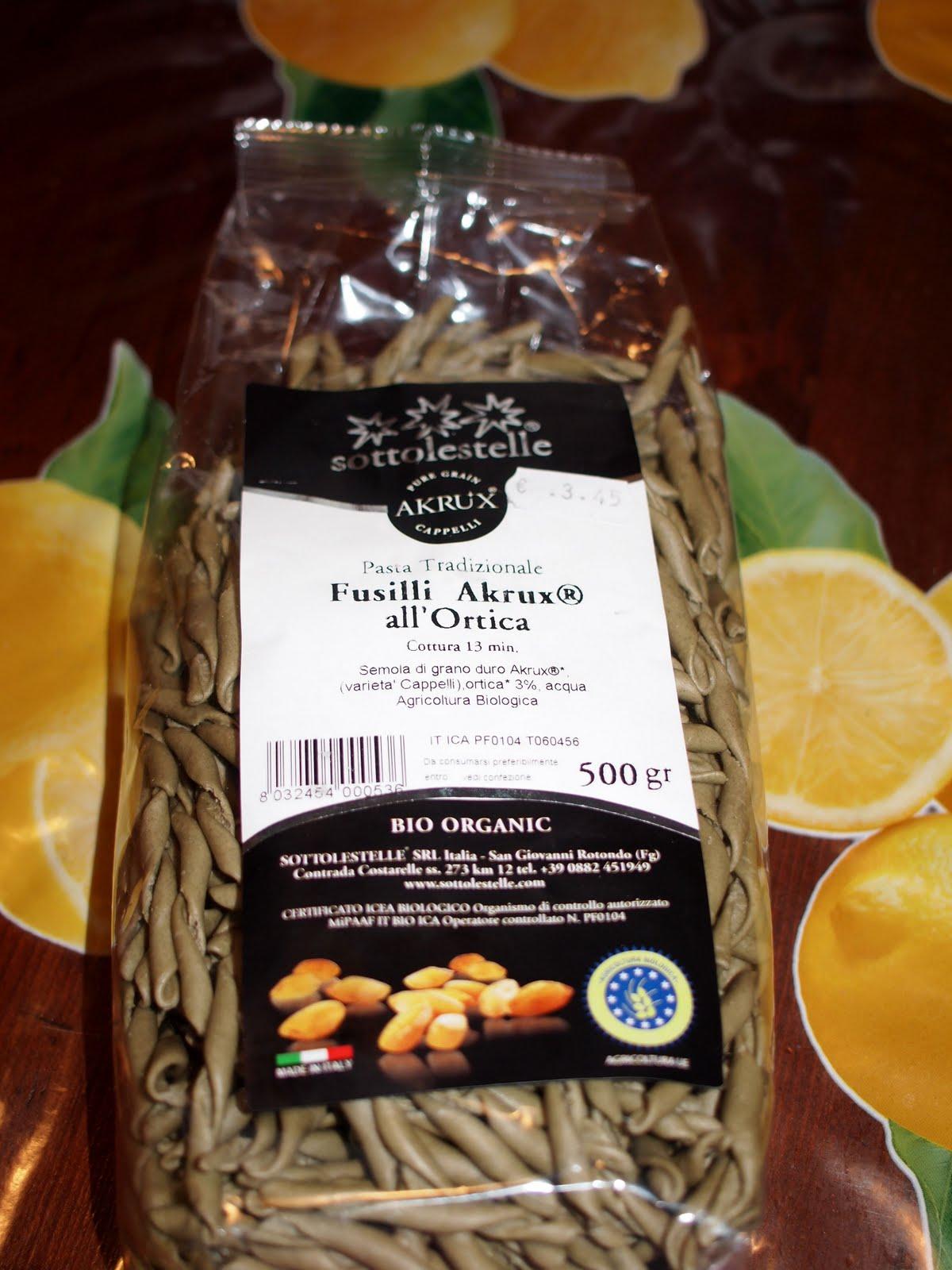 Cucinare per amore naturalmente pasta alla for Cucinare ortica