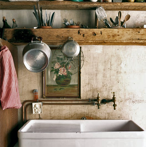 French Country Kitchen Taps