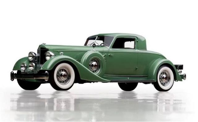 Packard Twelve Dietrich Stationary Coupé 1934