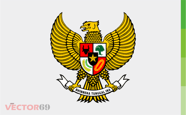 Lambang Garuda Pancasila - Download Vector File CDR (CorelDraw) X4