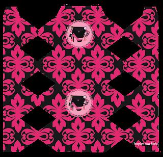 Cajas de Fiesta de Maquillaje para imprimir gratis.