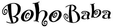 artwork of new logo for Boho Baba