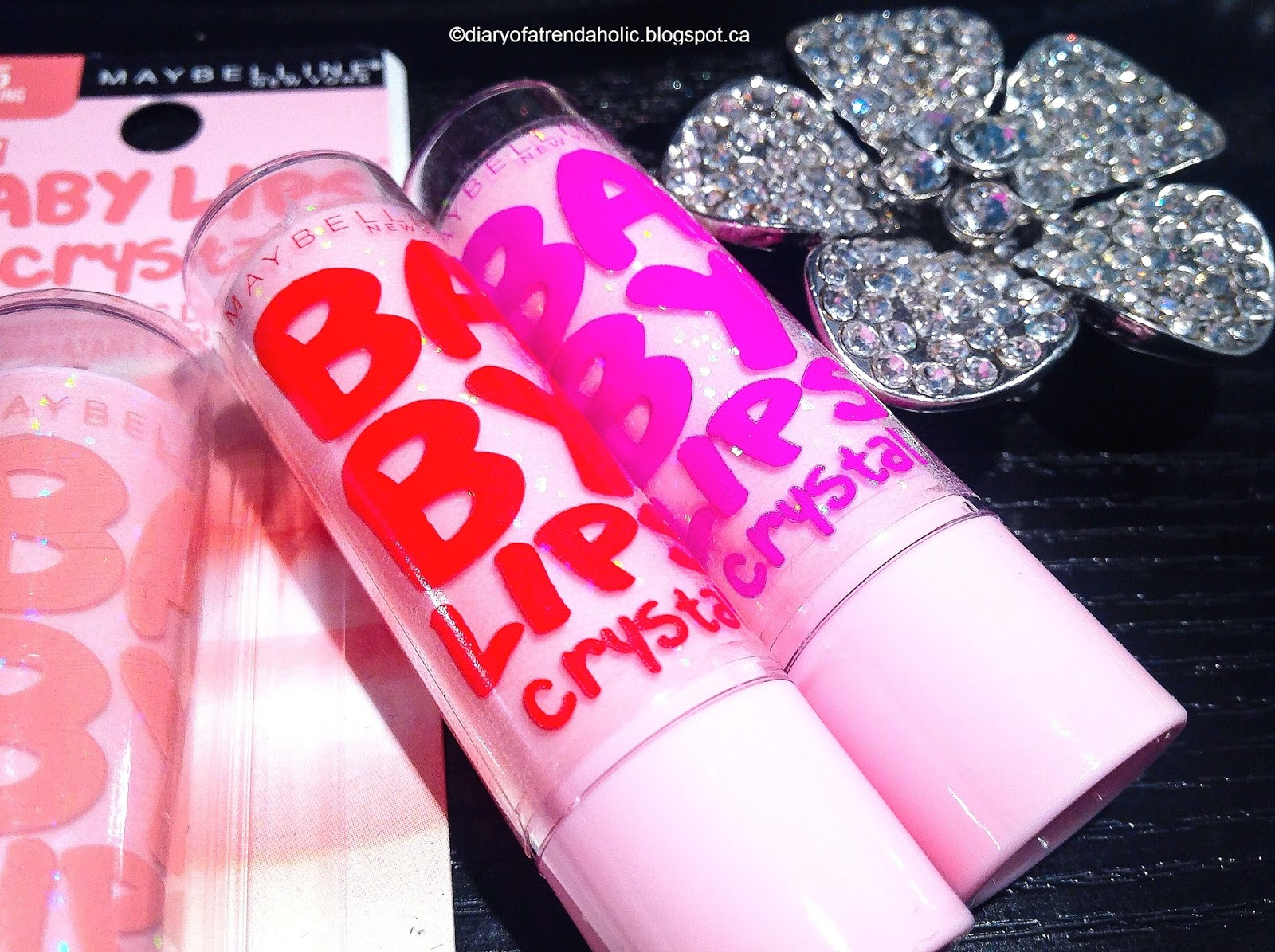 Diary of a Trendaholic : Maybelline Baby Lips Crystal Lip ...