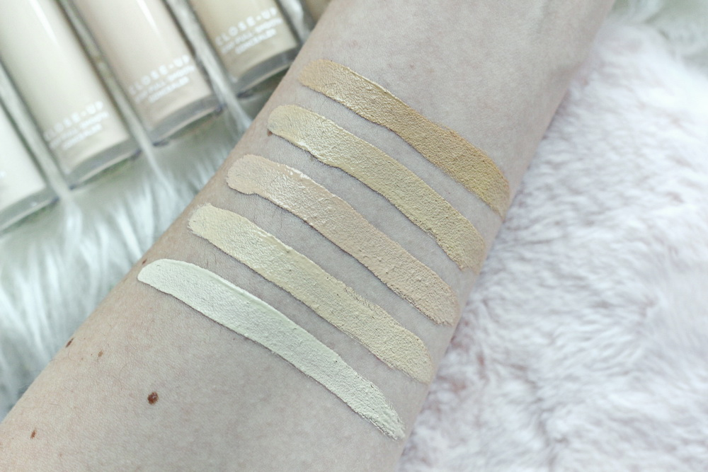 NABLA Close-up Concealer Swatch