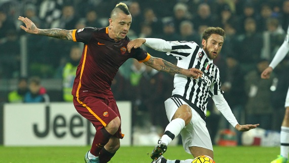 The pick of this weekend's fixtures is the clash between Juventus and AS Roma