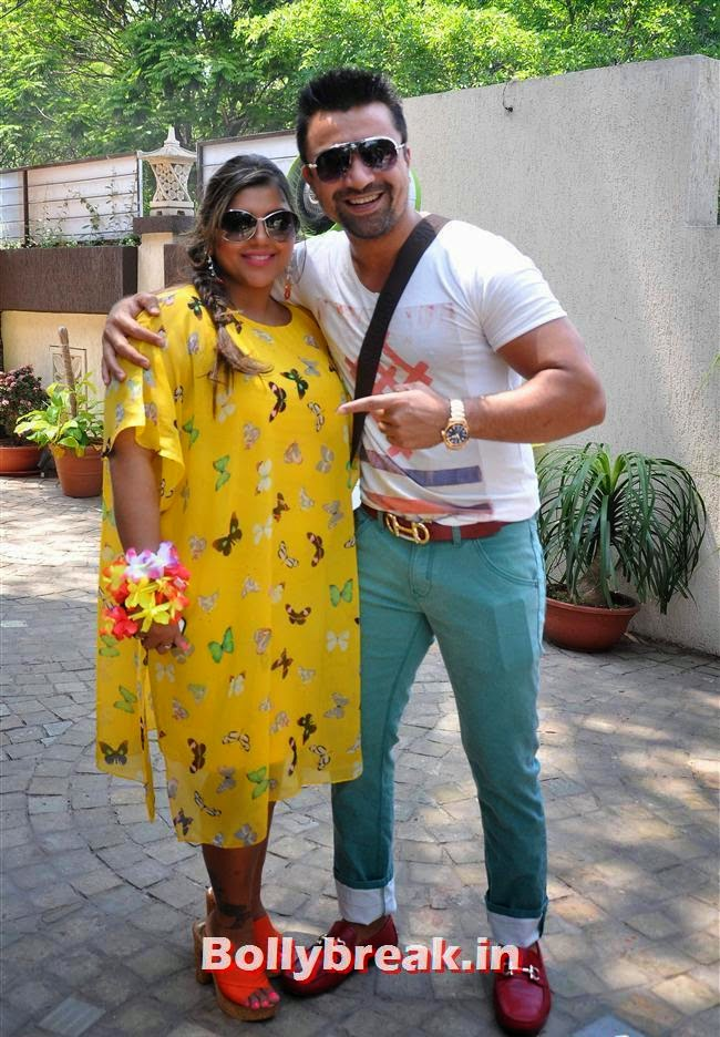 Sheetal Nahar and Ajaz Khan, Bollywood Page 3 Celebs at Sheetal Nahar Brunch Party