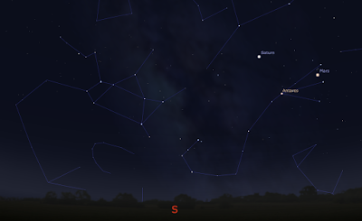 stellarium screenshot tea pot
