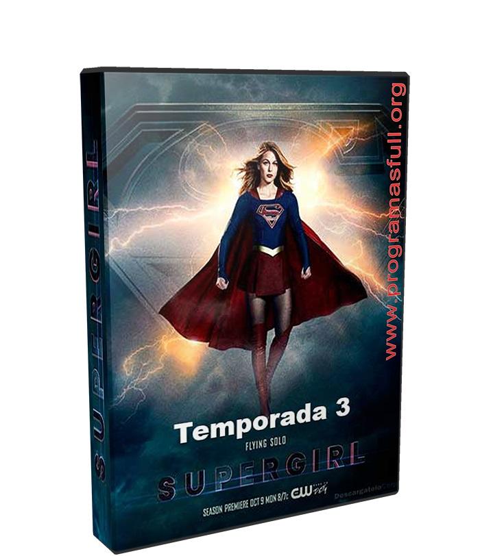 Supergirl Temporada 3 poster box cover