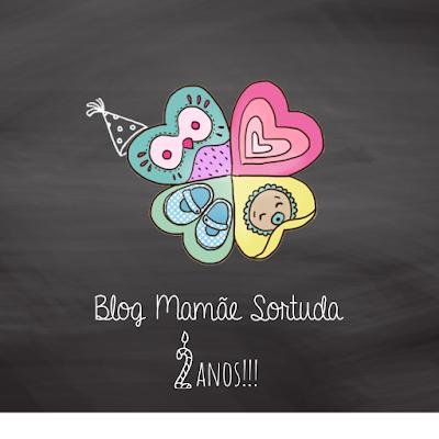 2 anos, Blog Mamãe Sortuda, Aniversário Blog Mamãe Sortuda
