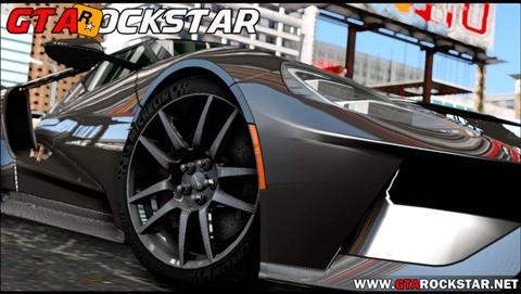 Ford GT 2017 em HD para GTA San Andreas