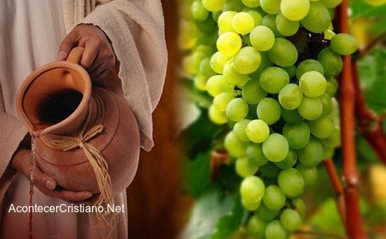 El vino de los tiempos de Jesús