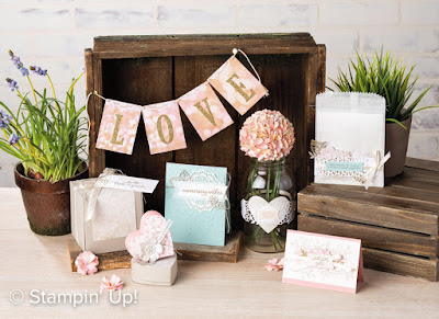 Stampin' Up! Falling in Love Suite ~ 2017 Occasions Catalog
