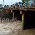 Bendung Jengkol Pintu Air Bendungan Kali Cijengkol di Sukamandi Ciasem Subang