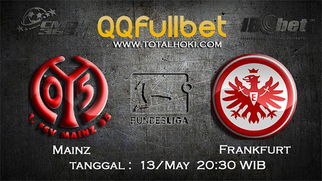 PREDIKSIBOLA - PREDIKSI TARUHAN MAINZ VS FRANKFURT 13 MAY 2017 (BUNDESLIGA)
