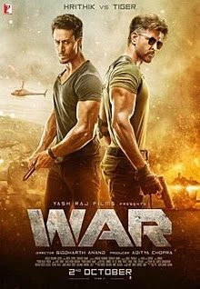 War 2019 Hindi Movie Pre-DVDRip 450Mb Download x264