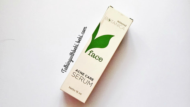 Review Mineral Botanica Acne Serum