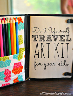 come realizzare un travel kit per artist