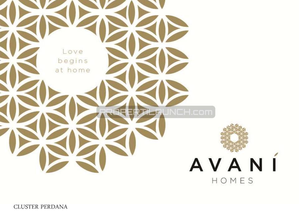 Cluster Avani Homes Summarecon Karawang