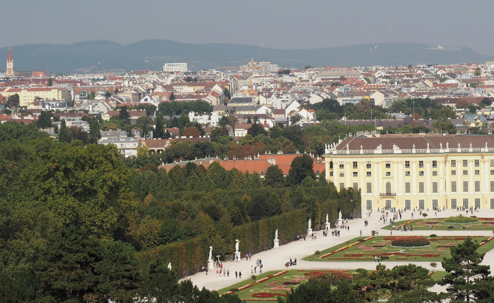 Views of Vienna from the Schon Palace
