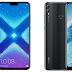 Honra da Huawei 8X Max tem um display de 7 polegadas e um entalhe minúsculo