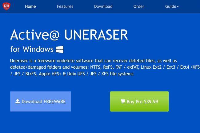 Active@ UNERASER for Windows