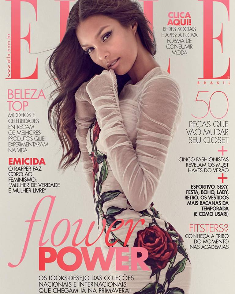 7c6d6d2b2 Lais Ribeiro gets romantic for her native Brazilian Elle and Gustavo  Zylbersztajn.