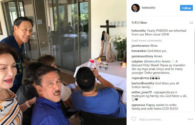 Check out How the Sotto Family Spent Their Holy Week. See Their Photos Here!
