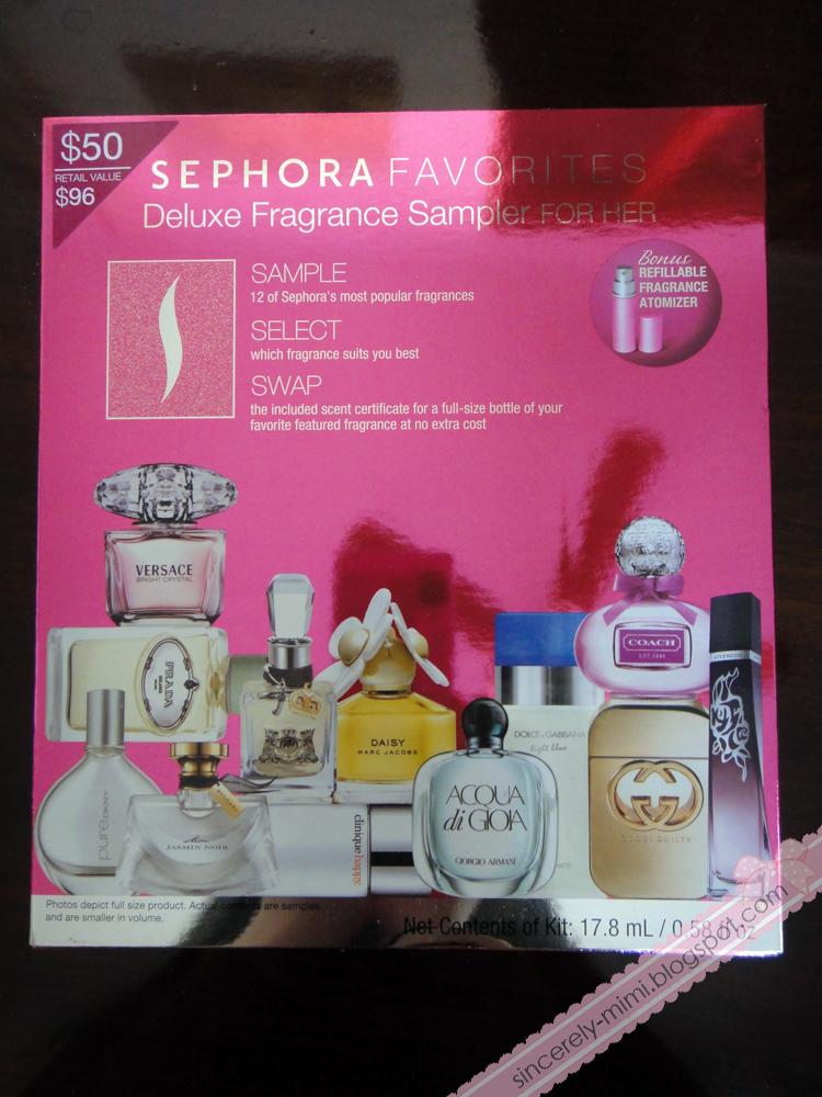 Sincerely Mimi Sephora Deluxe Fragrance Sampler For Her Review